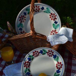 Piatti in ceramica vietrese