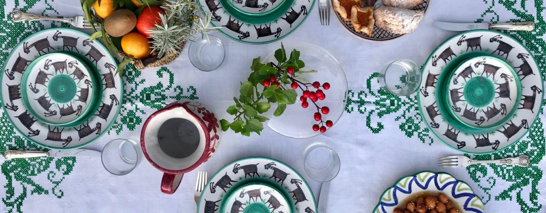Prodotti di ceramiche di Vietri per la Cucina