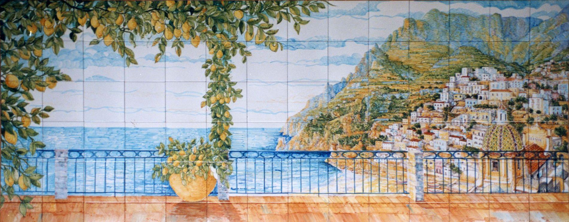 Pannelli e decori su piastrella